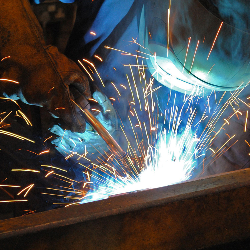 Welding in-house being done by our expert team who have years of collective experience