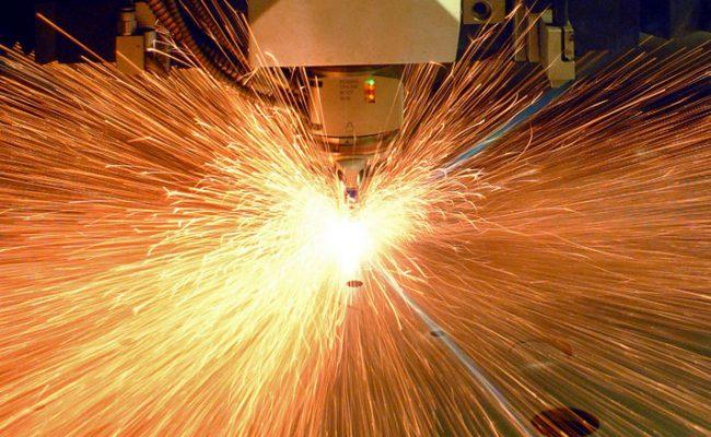 Trumpf 10kw cutting sheet metal