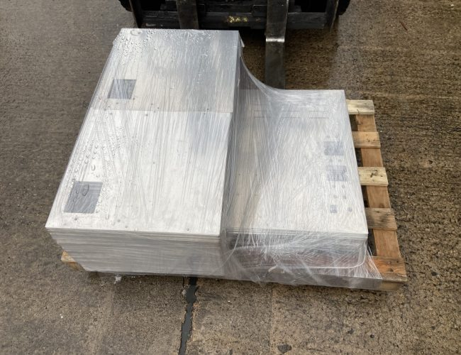 Shrink wrapped parts