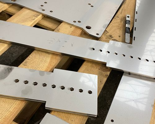 Stainless steel cut